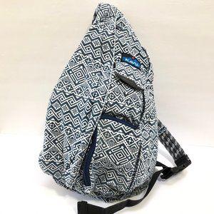 KAVU Rope Sling Bag Crossbody Sling Backpack Navy